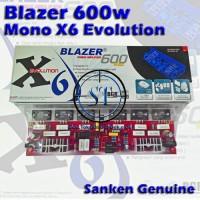 harga Kit Pa. Blazer X6 Bell High Power Amplifier 600w Mono Evo Tokopedia.com