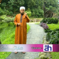 Gamis Alham bahraini- Reguler ukuran s,m,x,xl