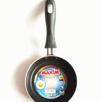 Teflon Kecil / Goreng Telur / Maxim Valentino / Frypan 12cm Kuali Mini