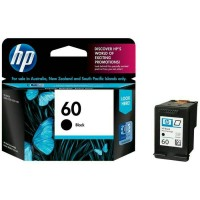 TINTA PRINTER HP 60 BLACK 100% ORIGINAL