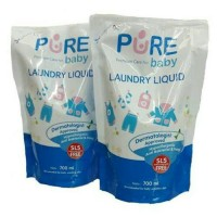 Pure Baby Laundry Liquid 700ml Detergen Baby Pure Baby