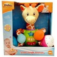 Winfun Smart Jungle Giraffe / Mainan Bayi