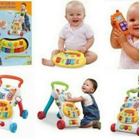 Winfun Grow With Me Musical Walker / Mainan Bayi + Walker