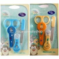 Manicure Set Baby / Perlengkapan Gunting Kuku Bayi Baby Safe