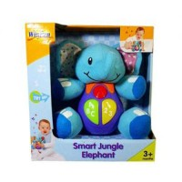 Winfun Smart Jungle Elephant / Mainan Bayi