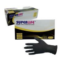 Sarung Tangan Nitrile Gloves Black Tattoo box isi 100pcs