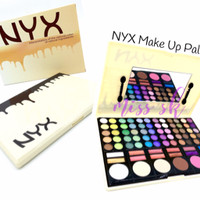 Jual SALE NYX Make Up Palette ( eye shadow lipstick blush on foundation pal Murah