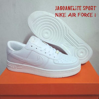 SPECIAL Sepatu Legendaris Nike Air Force 1 Low Putih Polos Top Quality