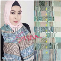 Jual Model Terbaru Hijab Jilbab Pashmina Zara Motif Ethnic Piramida Jakarta Barat Toko Six 6 Tokopedia