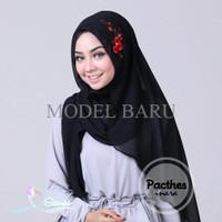 Model Terbaru Inara Patches By Sitiocha / Jilbab Pashmina Instant