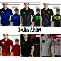 Polo shirt kamen rider