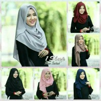 Jual jilbab/hijab/kerudung pasmina pashmina 1slup hana instan Murah