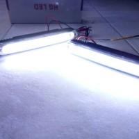 Jual Lampu LED DRL COB PLASMA CASING LURUS Murah
