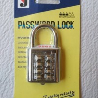 Gembok Password Pin 8 Angka/Digit