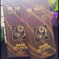 Cokelat Monggo coklat Dark Chocolate 69% 80gr