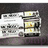 Coklat MONGGO WHITE CHOCOLATE 40GR