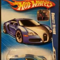 Hotwheels Bugatti Veyron blue satin factory seal