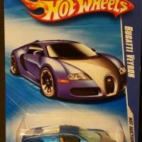 Hotwheels Bugatti Veyron blue satin