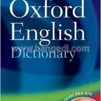 Little Oxford English Dictionary (Original)