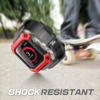 Wristband Supcase Jam ORI Beetle Pro Red Case Cover Casing Apple Watch