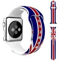 Wristband Strap Sport Bendera US Jam Rainbow Apple Watch 38mm 42mm