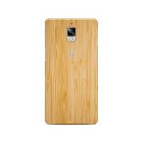 Hardcase Bumper Bamboo Wood Hard Case Cover Casing Original Oneplus 3