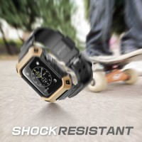 Wristband Supcase Beetle Pro Gold Band Belt Jam Apple Watch 38mm 42mm