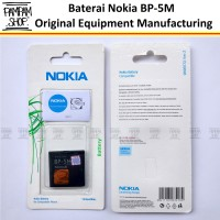 Batre / Baterai / Batrai / Battery Nokia BP-5M / BP5M 6500 Slide ORI