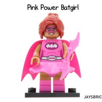 Lego Original Minifigure Batgirl Pink Power Batman Movie Series