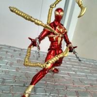Jual Mainan Ironspider Iron spider Spiderman marvel custom figure Murah
