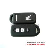 Kondom Kunci Silikon Remote Keyshirt Motor Honda All New PCX Hitam