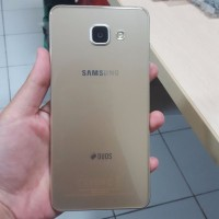 Samsung Galaxy A5 2016 16gb GOLD SECOND BINTANG 1 SEIN