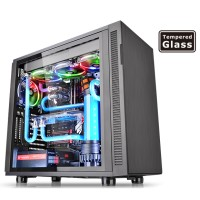 Thermaltake Suppressor F31 TG / Black / Win / SPCC / Tempered Glass
