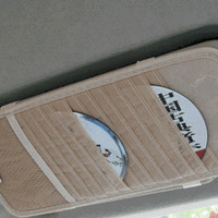 Tempat CD Sun Visor mobil Kartu VCD DVD Cars Organizer Interior Holder