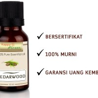 Cedarwood Essential Oil (Minyak Aras) | 10ml seiras Young Living