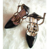 Terbatas High Heels Sepatu Wanita Hitam- S167 Murah Meriah