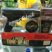 Tune up kit 3pcs - compression tester / timing light K 547 trisco