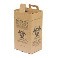 Safety Box Coklat 5Liter OneMed