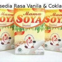 Jual Mama Soya Susu Kedelai + Herbal   Mamasoya (Min 12Dus) Murah