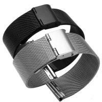 Tali Jam Tangan Rantai Mesh Milanese Bracelet Stainless Watch Strap