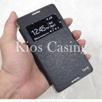 Sony Xperia C C2305 - Candy View Cover Leather Flip Case Casing