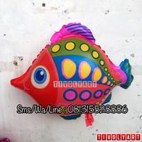 Balon Ikan Merah