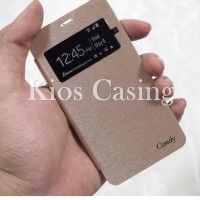 Sony Xperia L C2105 - Candy View Cover Leather Flip Case Casing