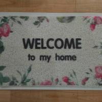 harga Keset Welcome Motif Mie / Alas Kaki Welcome Tokopedia.com