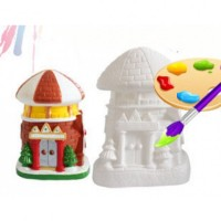 Mainan Anak - Castle Colouring Set Cat Air Mewarnai Mainan Edukasi