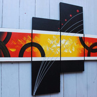 TERBARU lukisan minimalis asli L-1079 dekorasi,dinding,perumahan,hotel