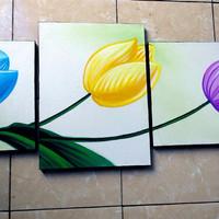 TERBARU lukisan minimalis asli L-932 dekorasi,dinding,perumahan,hotel