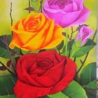 FENGSHUI lukisan minimalis asli L-1100 dekorasi,dinding,perumahan,hote