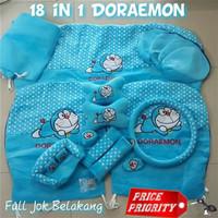 Sarung Jok Mobil / Bantal Mobil 18 in 1 / 18in1 Full Set Doraemon HM