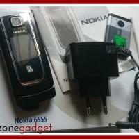 [Promo] Nokia 6555 Flip Black | Nokia Jadul ORI | HP Jadul Mur